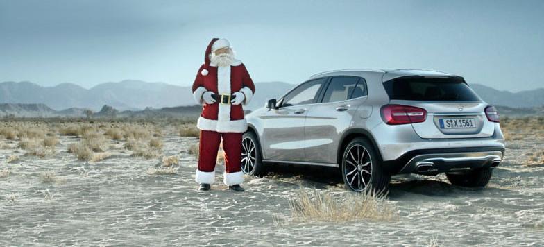 Mercedes Benz Sprinter >> Freude mit Freunden teilen: Persönlicher Weihnachtsgruß ...