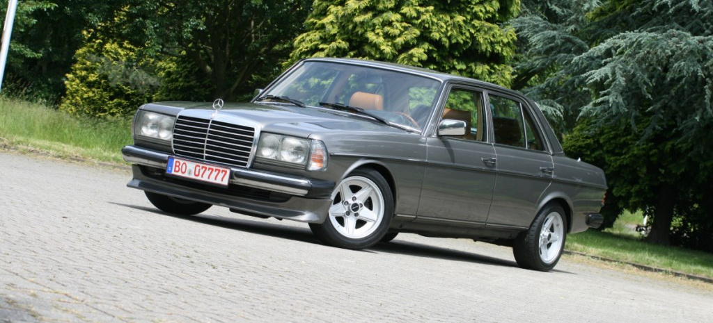 nicht des schusters schuhe 1984er mercedes benz 230e w123. Black Bedroom Furniture Sets. Home Design Ideas