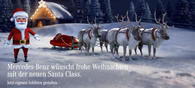 Etwas Andere Weihnachtsgrüße.Mercedes Benz Weihnachtsgruß Die Etwas Andere S Klasse Online Die