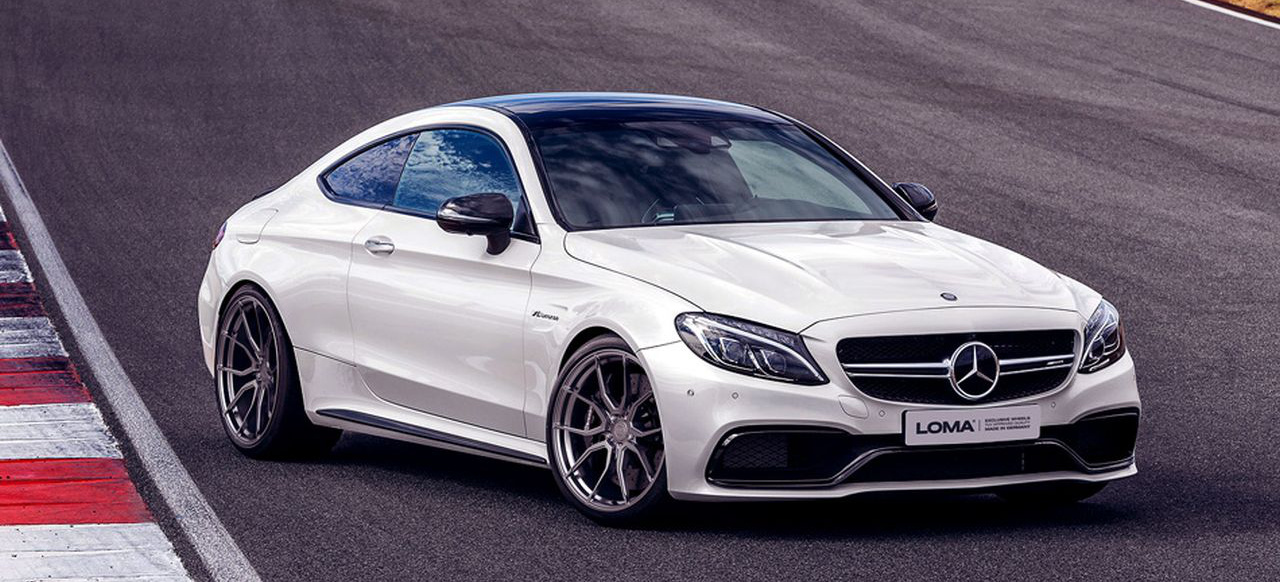 "Mercedes-AMG C63 Coupé Tuning: Radgeber"": 20-Zoll-Loma ..."