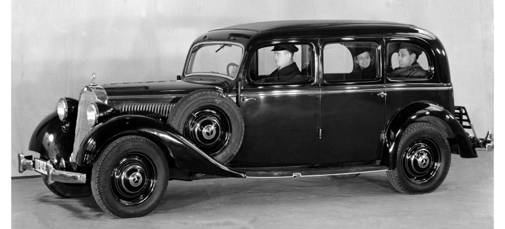 mercedes benz 125 der erste serien pkw mit diesel 1936. Black Bedroom Furniture Sets. Home Design Ideas
