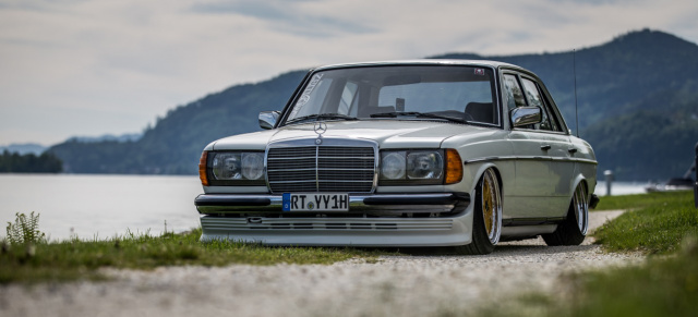 "Downsized: Mercedes-Benz W123 : ""Zeitlows"": 82er Mercedes-Benz 200 W123 mit Airride"