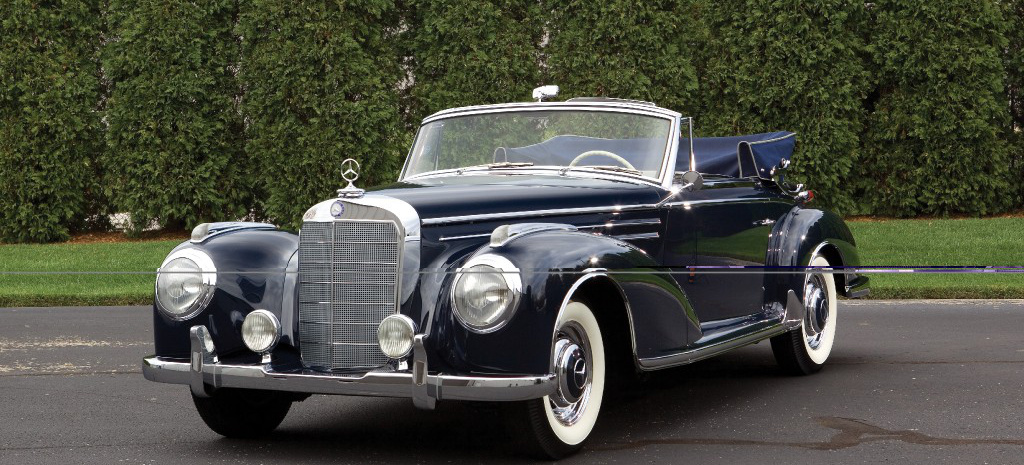 Nur 49 exemplare 1956 mercedes benz 300sc cabriolet for 1956 mercedes benz
