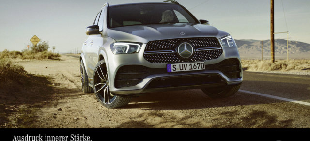 "Der neue Mercedes-Benz GLE: GLE Kampagnen-Video: ""In the long run""  spaltet die Youtube-Gemeinde"