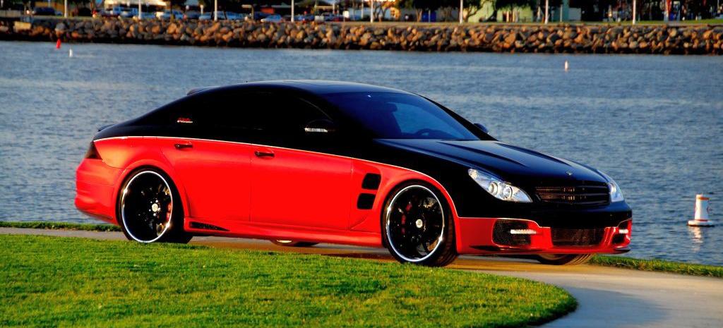 Mercedes Benz Gls >> Mercedes Tuning als Kunstform: 2006er Mercedes-Benz CLS 55 AMG: Mercedes Tuner nimmt sich die ...