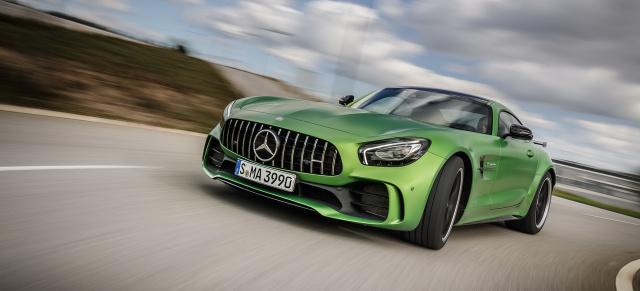 Der neue Mercedes-AMG GT R im Fahrbericht: Supersportler mit ...