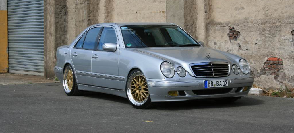 Mercedes benz e320 2000 car tuning