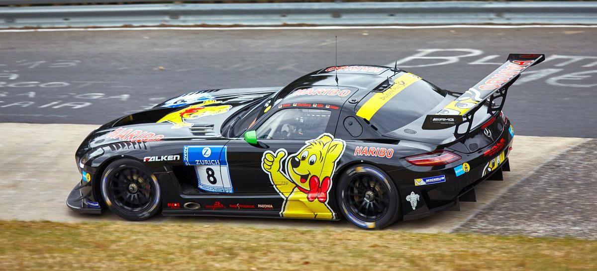 24 Rennen Am N 252 Rburgring Die Mercedes Teams Der