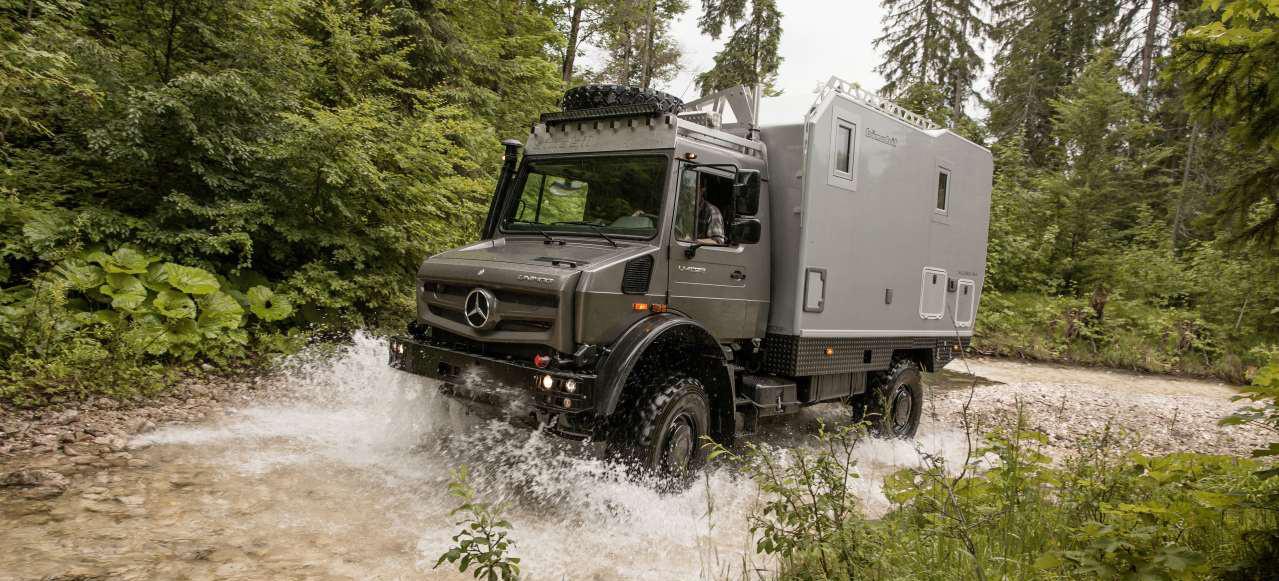 mercedes benz special trucks auf der abenteuer allrad. Black Bedroom Furniture Sets. Home Design Ideas