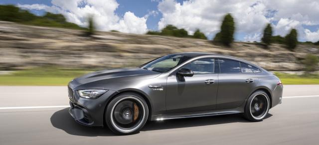 Fahrbericht Mercedes Amg Gt 63 S 4matic 4 Türer Auf