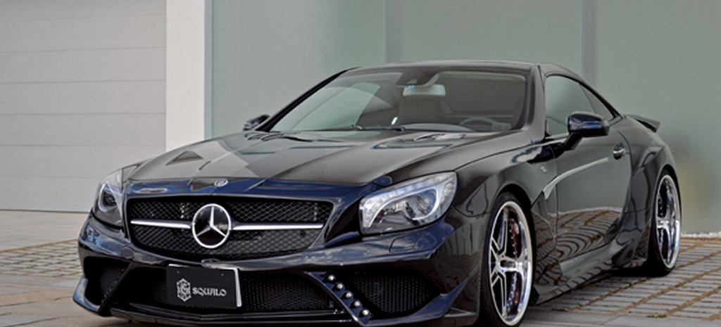 hai line mercedes sl von tuner vitt performance mit dem. Black Bedroom Furniture Sets. Home Design Ideas