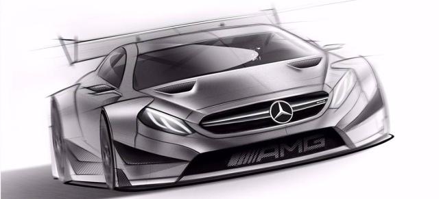 So schaut das neue Mercedes-AMG DTM-Auto für die Saison 2016 aus ...