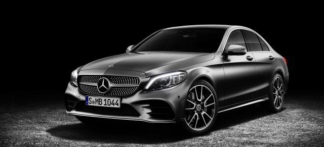 Neu Auf Dem Genfer Salon Mercedes Benz C Klasse Facelift 2018