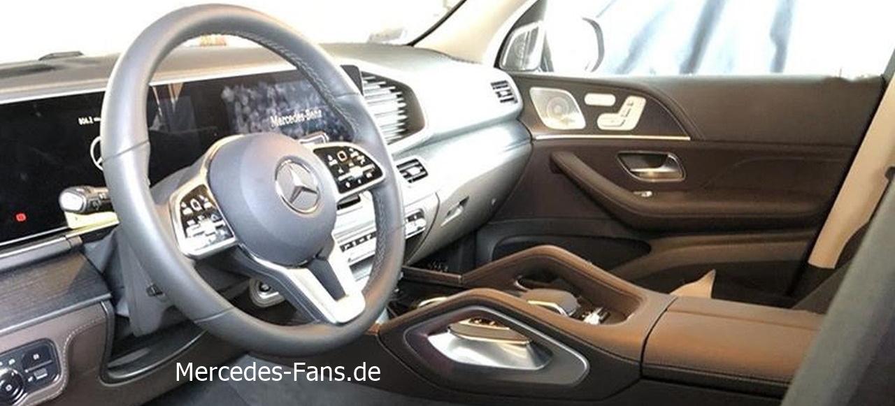 Durchgesickert: Mercedes-Benz GLE Interieur: Exklusiv: GLE ...
