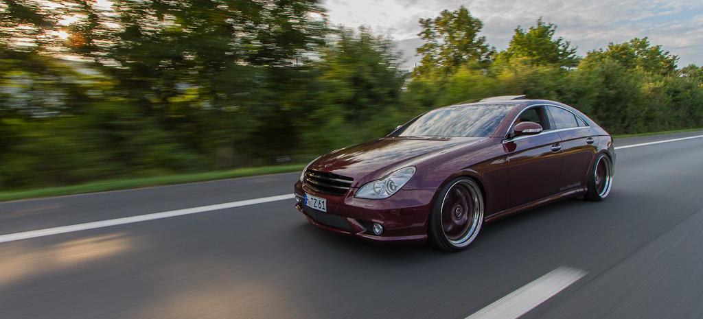 Mercedes Cls 55 Amg Jenseits Von Gut Und B 246 Se Edel