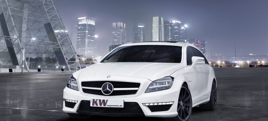 neu von kw gewindefedern f r mercedes benz cls 63 amg. Black Bedroom Furniture Sets. Home Design Ideas