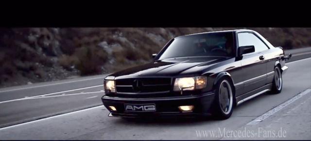 Hommage An Einen Gro 223 En Wagen Mercedes 560 Sec Amg Im