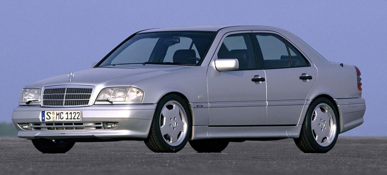 erste mercedes c klasse mit achtzylinder r ckblick 1997 mercedes benz c43 amg classic. Black Bedroom Furniture Sets. Home Design Ideas