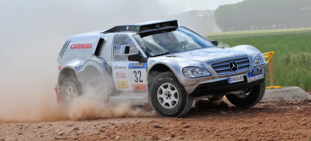 The Fast Amp Ugly Mercedes Ml 320 Rallye Buggy Wieder