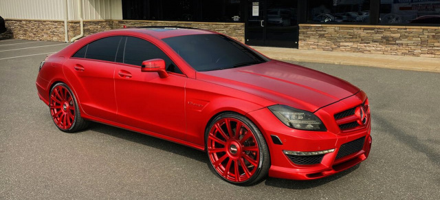 Oops!...I did it again: Mercedes CLS 63 AMG von Odell Beckham Jr.: Tune it like Beckham