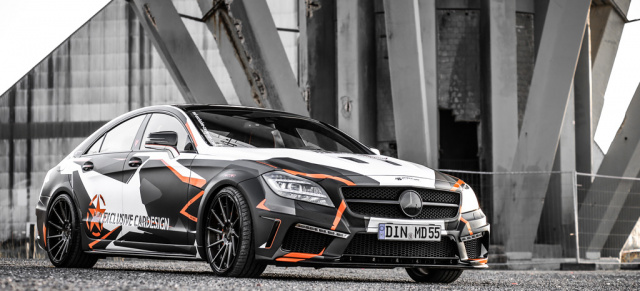 """Tuning: Mercedes-Benz CLS 500 Black Edition """"Stealth"""": Alarmstufe"""