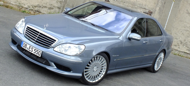 Mercedes S55 AMG Die Grosse Freiheit 2004er W220 Sprengt Mit 320 Km H