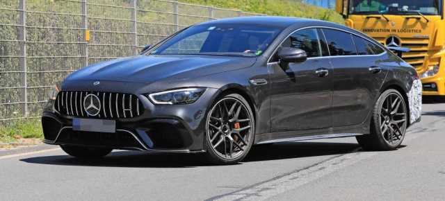Mercedes-AMG Erlkönig erwischt: Super-Star-Spy-Shot: Mercedes-AMG GT 73e mit 800 PS