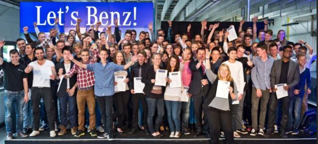Let S Benz Ausbildungsnacht Im Mercedes Benz Werk