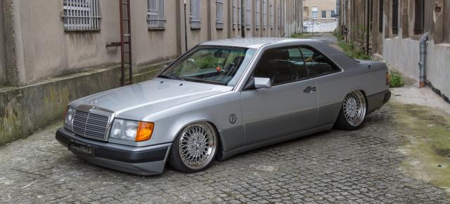 Mercedes Youngtimer Klare Kante Abgrundtiefer Mercedes