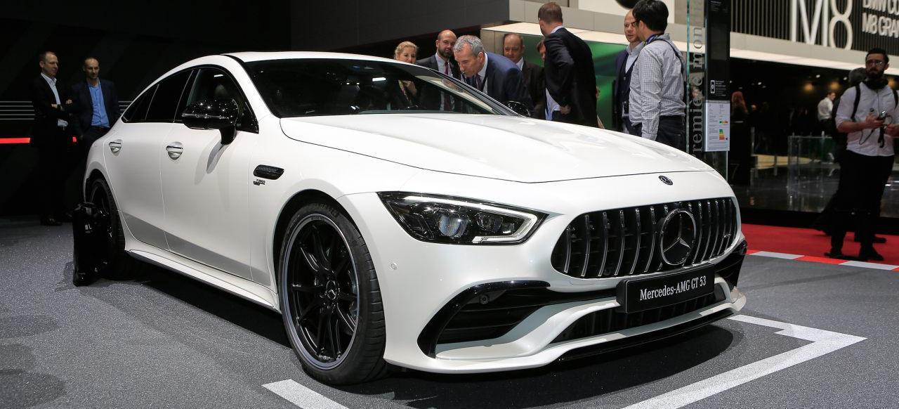 Mercedes auf dem 88. Genfer Auto Salon: Livebilder vom ...