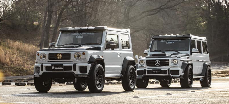 mercedes benz g klasse tuning lieber gernegro oder. Black Bedroom Furniture Sets. Home Design Ideas