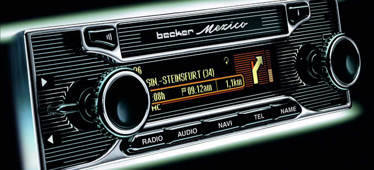 Classic Style Car Radio With Bluetooth