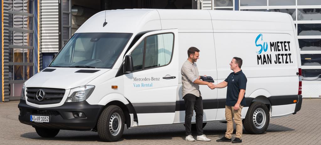 Mercedes benz van rental internet auftritt von mercedes for Mercedes benz minibus rental