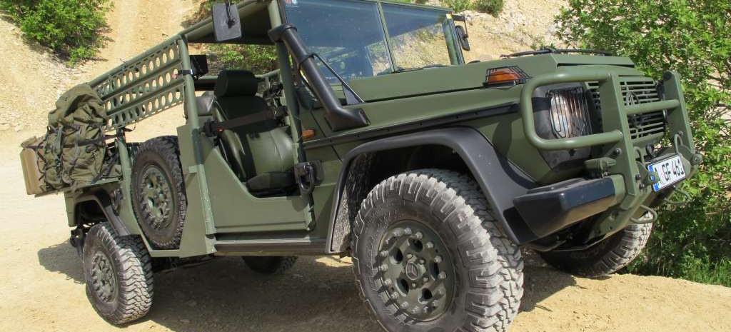 mercedes g in un gef hrlicher mission mercedes g 270 cdi light infantrie vehicle der serval. Black Bedroom Furniture Sets. Home Design Ideas