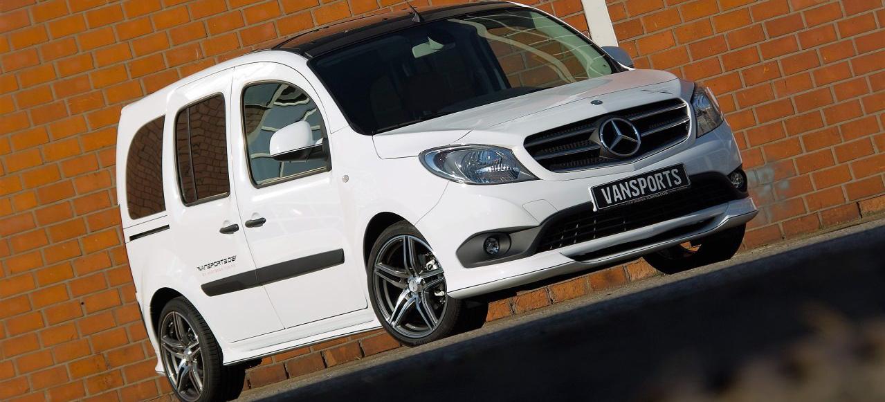 Mercedes Sprinter Van >> Mercedes-Benz Citan Tuning: Chic. Schön. Citan: VANSPORTS by HARTMANN Tuning präsentiert ...