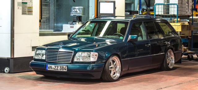 Mercedes-Benz S124 Tuning: 95er Mercedes-Benz E 280T als