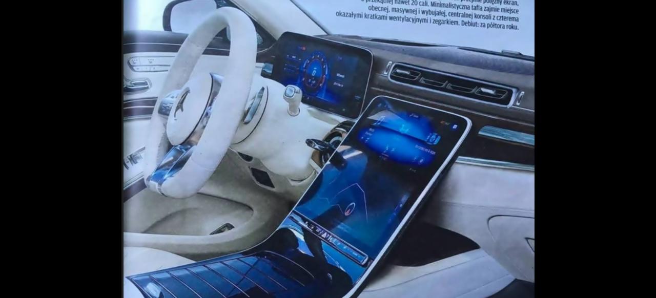 Gla 45 Amg >> Mercedes-Benz S-Klasse 2020: Internes Geheimnis gelüftet ...