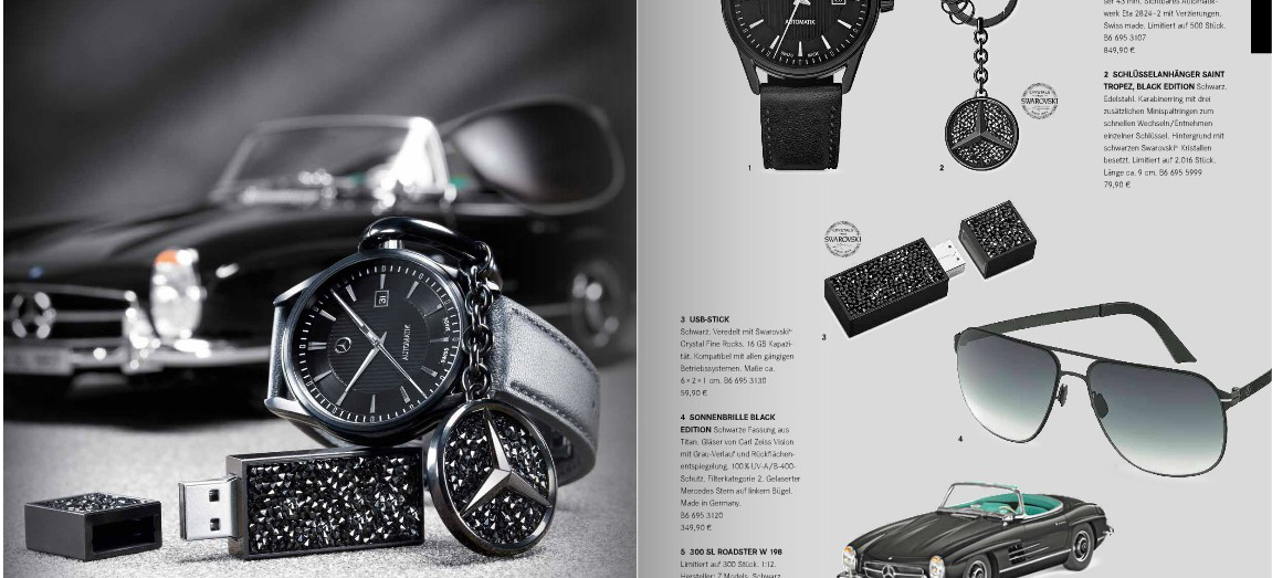 Mercedes benz collection 2016 accessoires f r besondere for Mercedes benz lifestyle collection