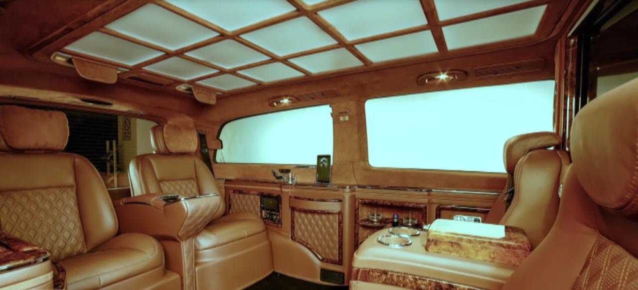 Mercedes Benz Gls >> Mercedes-Benz V-Klasse: Innenraumveredelung: Alles außer gewöhnlich: Luxus-V-Klasse von TRIMO ...