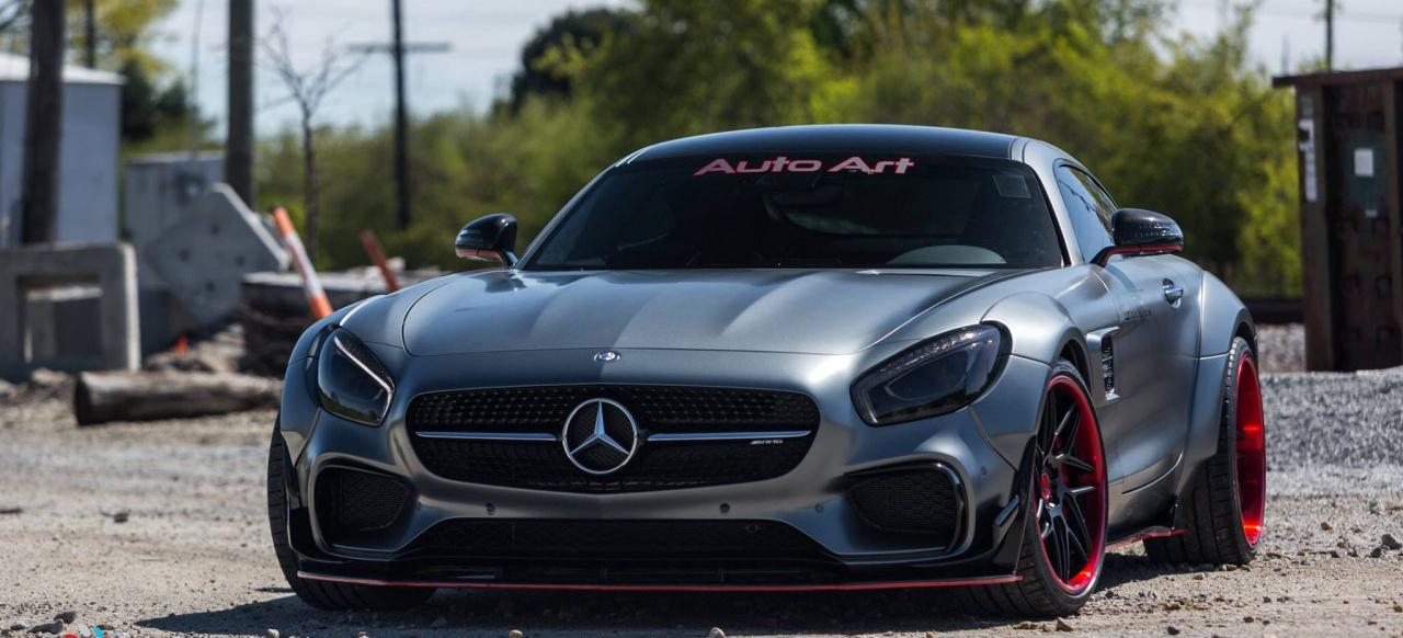"Mercedes Benz Cla >> Mercedes AMG GT S: Breitbau-Tuning: Heiß und fettig: ""Auto ..."