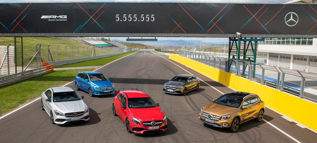 A klasse rekordzahlen zum jubil um ber for Mercedes benz 555