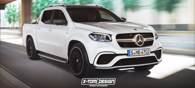 Mercedes-Benz X-Klasse - Absage an AMG Version : Never ever: AMG-Chef Moers gibt lasterhafter Performance keine Chance