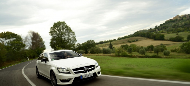 street and racing technology: mercedes-benz cls 63 amg shooting