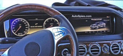 Mercedes S-Klasse 2014 - erste Bilder vom Interieur: Autospies.com ...