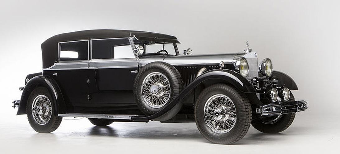 Mega Star W07 Damals Wie Heute Ist Das 1931er Mercedes