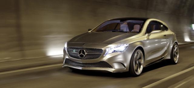 So wird die neue Mercedes A-Klasse: Auf der Auto Shanghai (21 ...