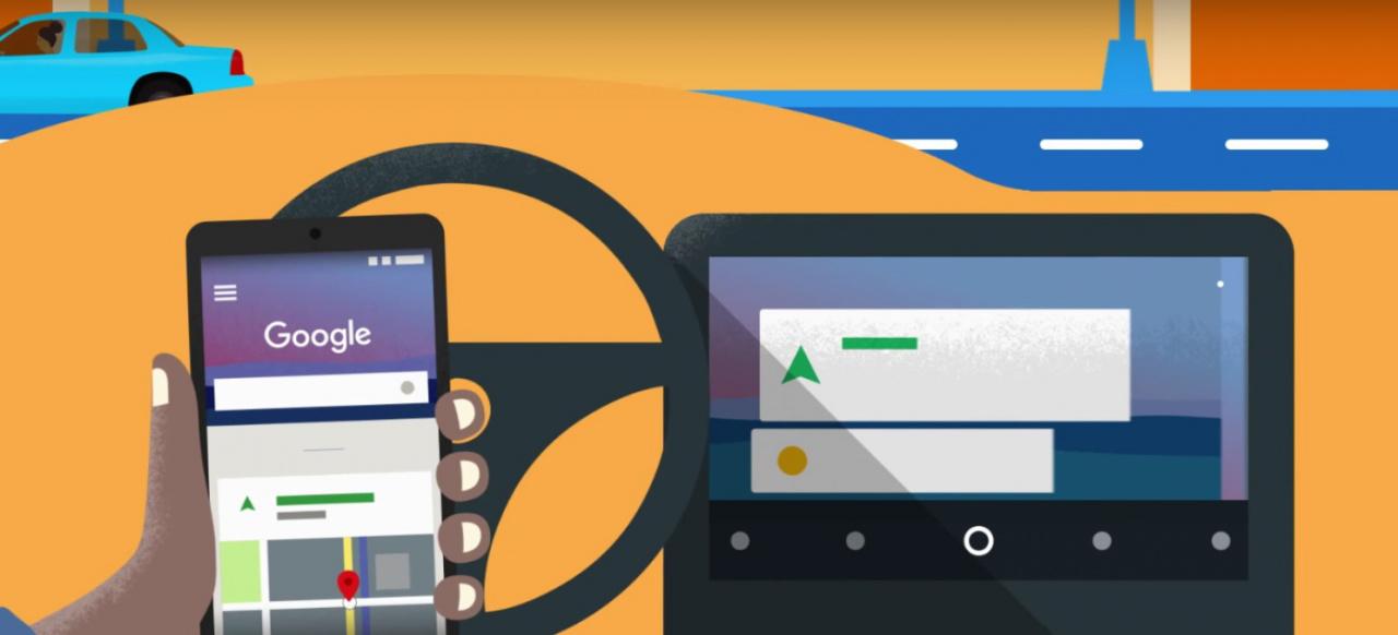 android auto android auto f r alle die praktische app kann jetzt in jedem auto genutzt werden. Black Bedroom Furniture Sets. Home Design Ideas
