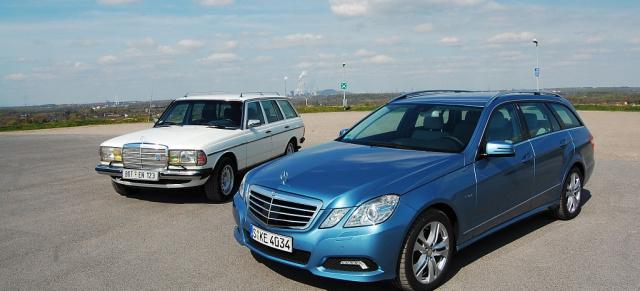 Mercedes E Klasse T Modell Eleganz Schafft Sich Raum Die Zweite