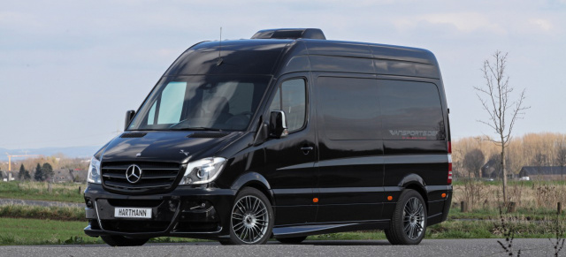 Mercedes-Benz Transporter Tuning: Mercedes-Benz Camper Sprinter von VANSPORTS by Hartmann Tuning