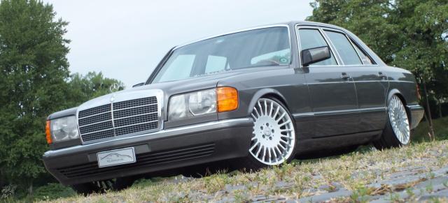 Reisen statt Rasen: Mercedes 300 SE (W126): In der 1988er S-Klasse ist der Weg das Ziel